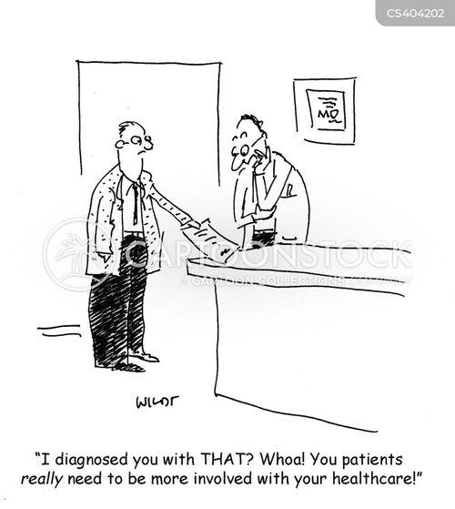 misdiagnose cartoon
