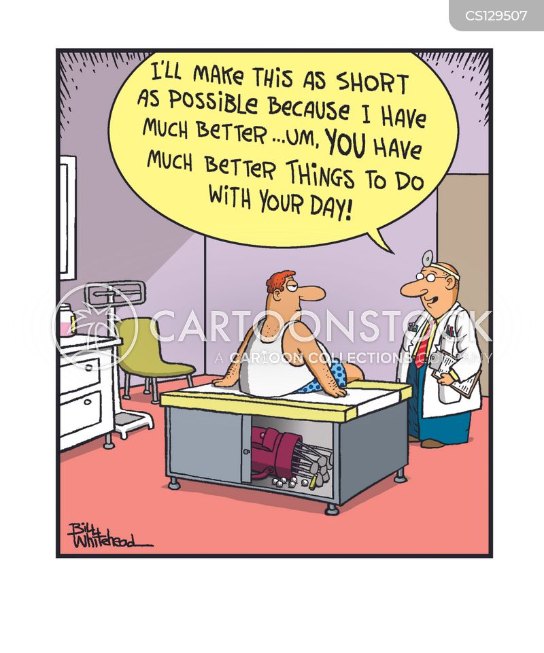 bedside manners cartoon