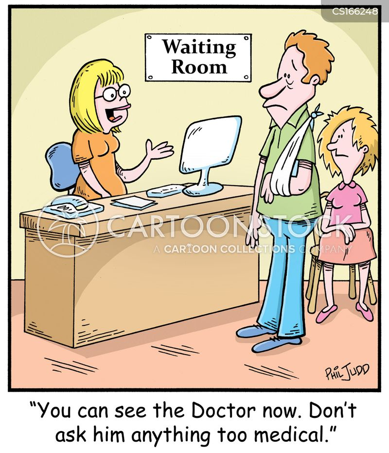 medical jargon cartoon