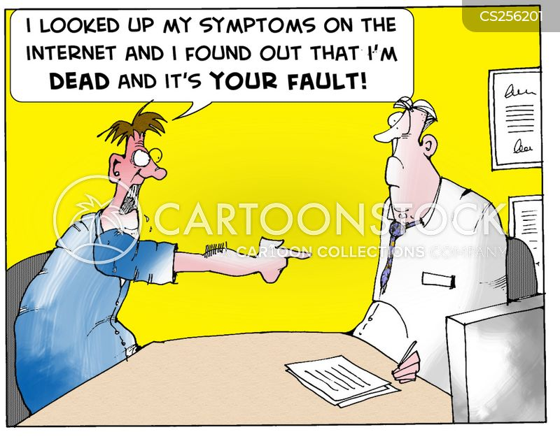 medical websites cartoon