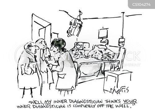diagnosticians cartoon