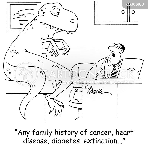 medical history cartoon