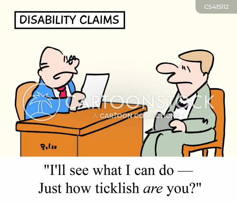 benefits claimants cartoon