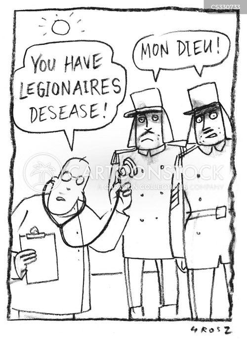 legionnaires cartoon