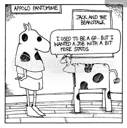 pantomimes cartoon