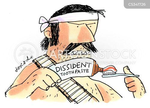 political activists cartoon