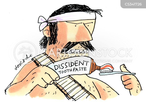 political activist cartoon