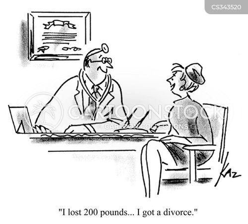 fat husbands cartoon