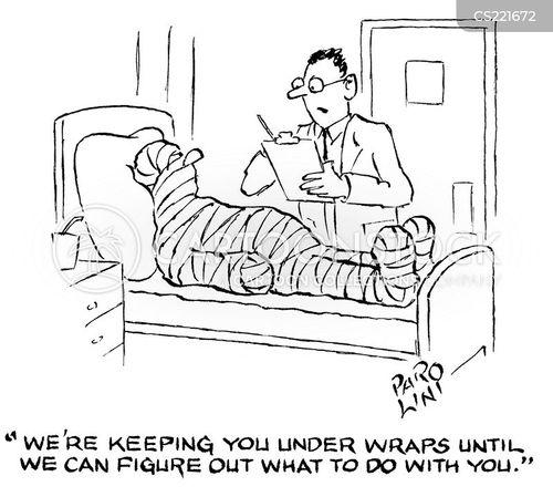 injur cartoon