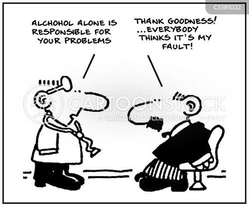 drunkenness cartoon