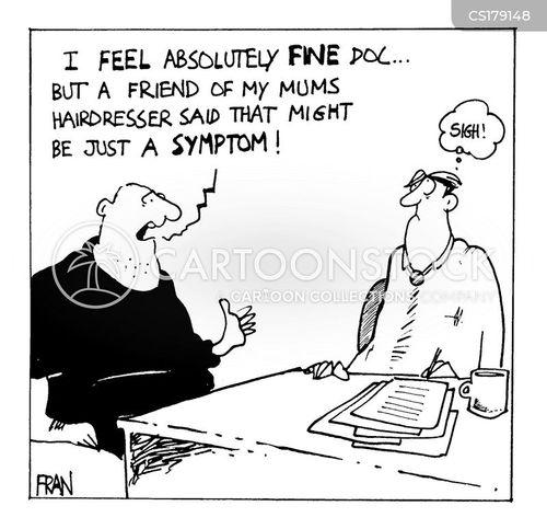 self diagnosis cartoon