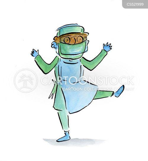 healthcare worker cartoon