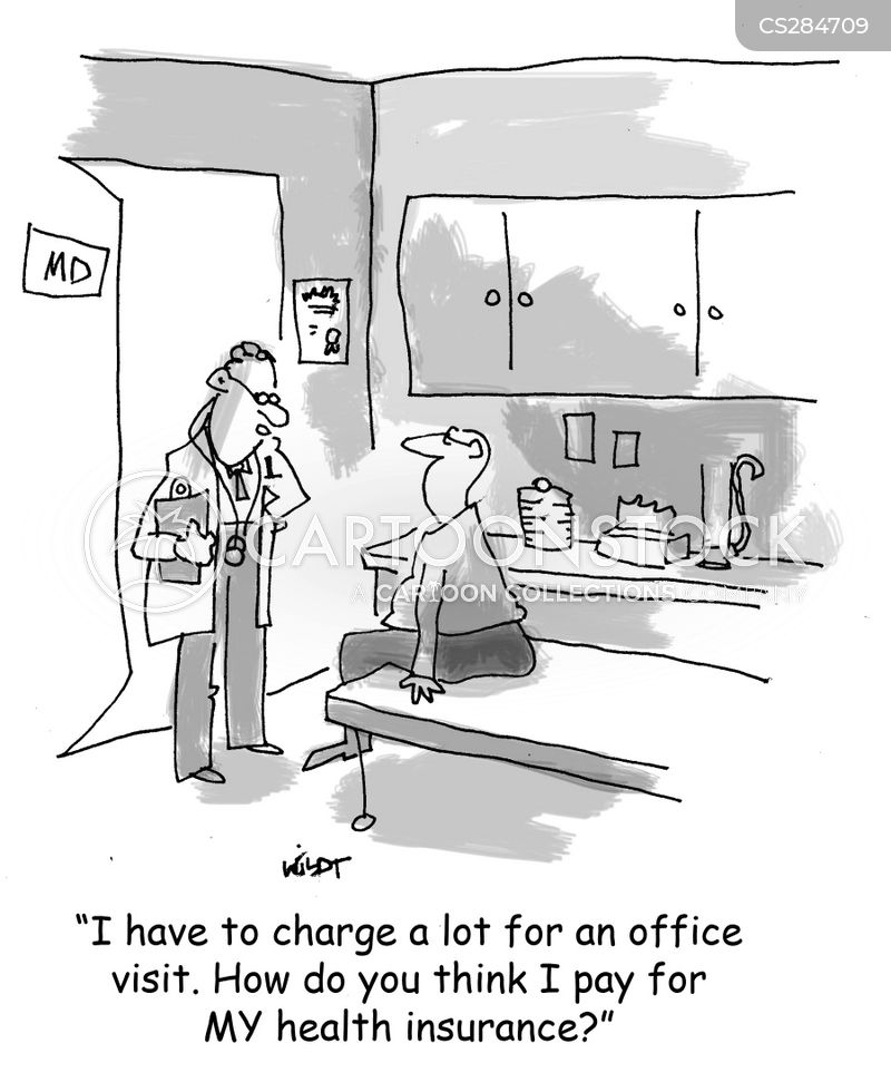 office visit cartoon