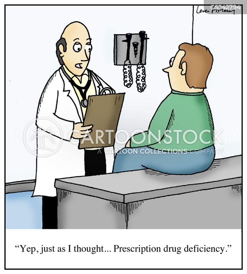 deficiency cartoon