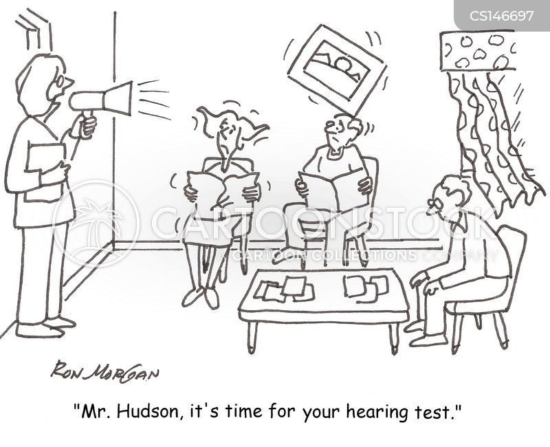 ear doctor cartoon