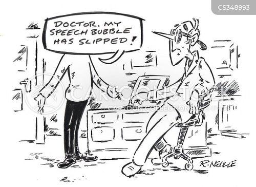 speech bubbles cartoon