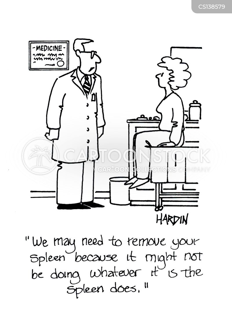 spleen cartoon