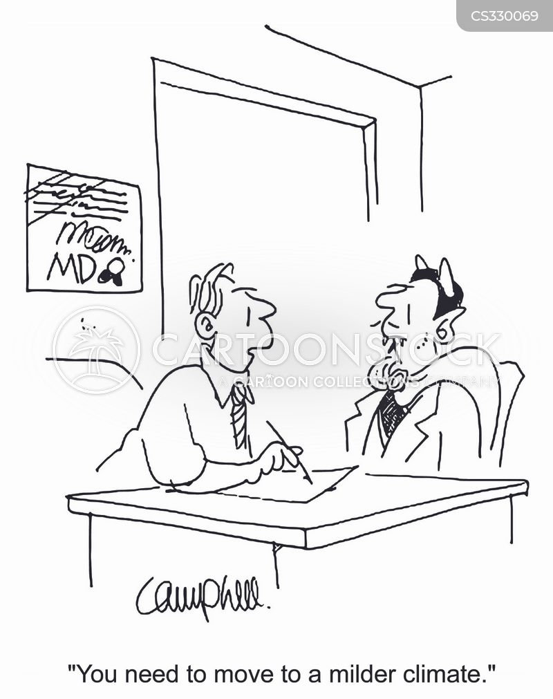 hot climates cartoon