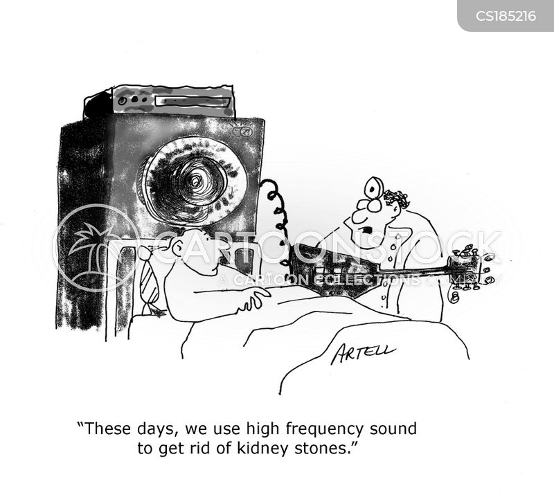 kidney stones cartoon