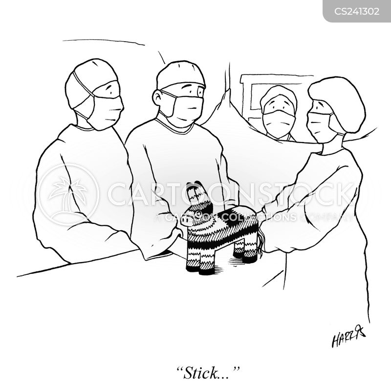 Doctor Equipment Drawing Surgical Equipment Cartoon 7