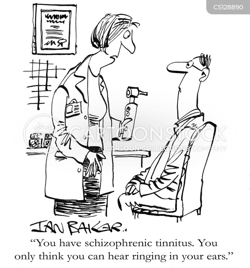tinnitus cartoon