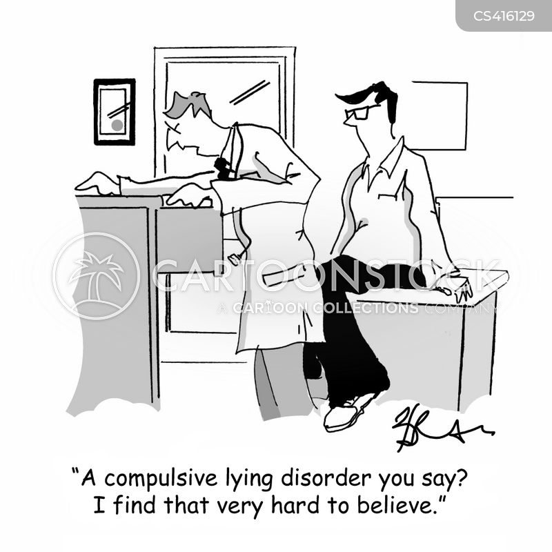 compulsive liars cartoon