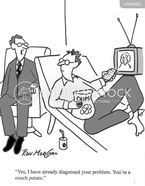 health complaint cartoon