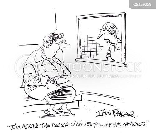cataracts cartoon