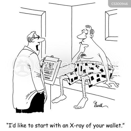 high cost of medicine cartoon
