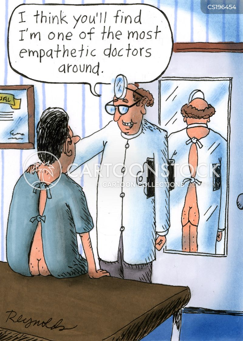 patient-doctor relations cartoon