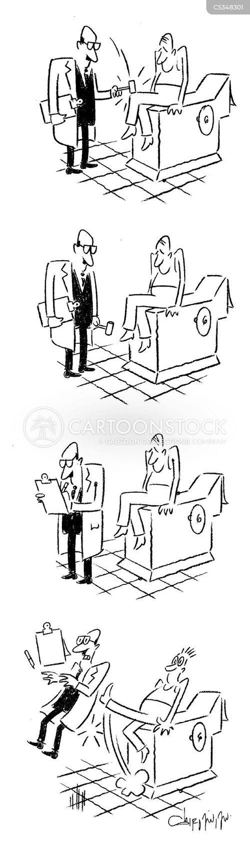 reflex test cartoon