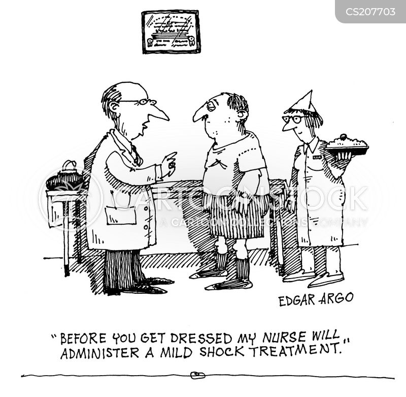 shock treatment cartoon
