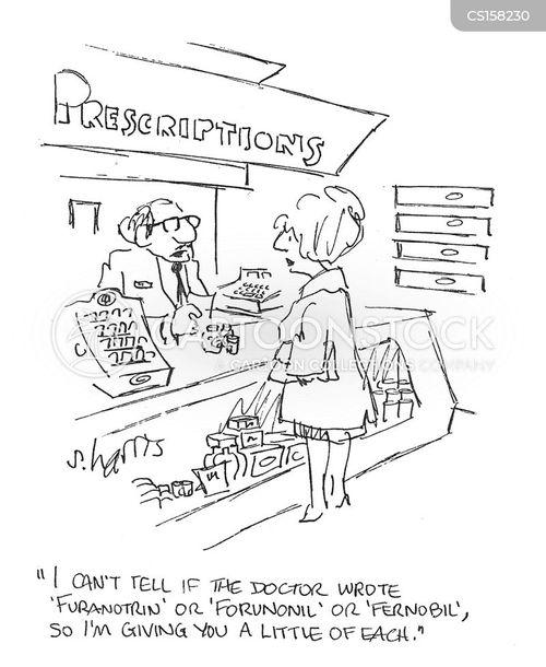 hand written cartoon