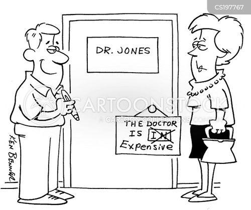 doctors costs cartoon