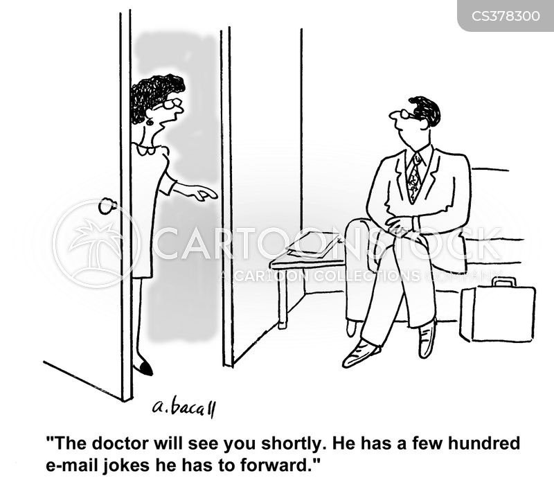 medical office cartoon
