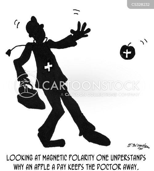 magnetism cartoon