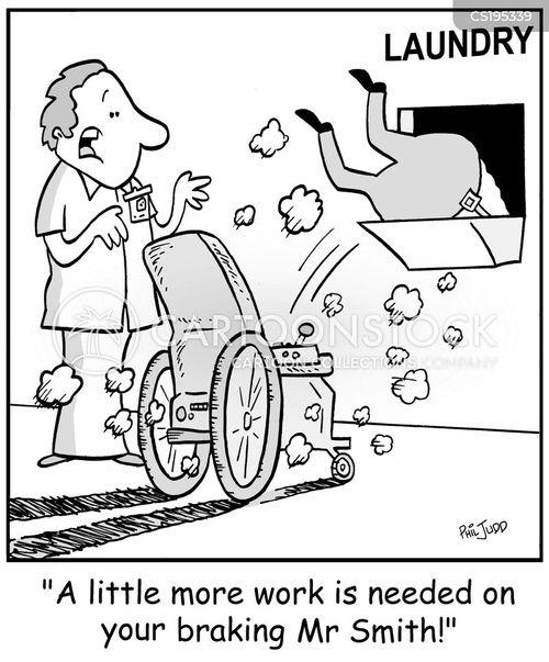 physiotherapist cartoon