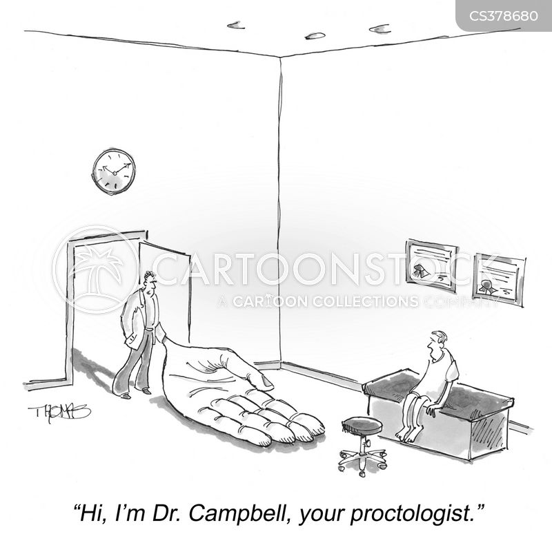 proctology cartoon