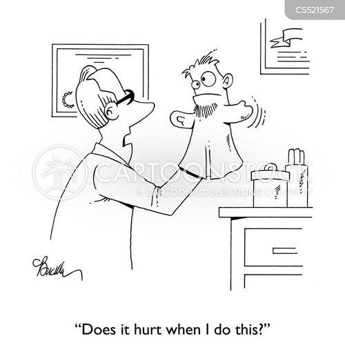 pain thresholds cartoon