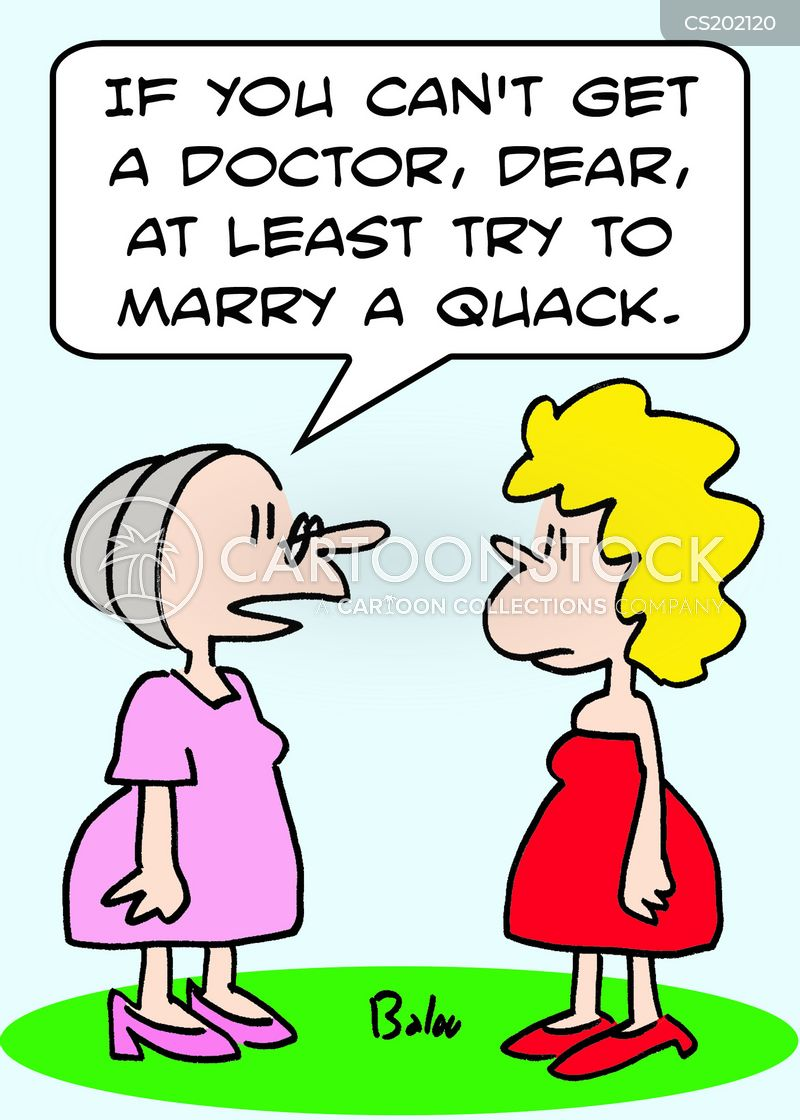 getting married cartoon