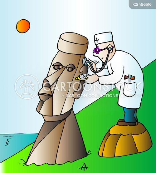 archaeological site cartoon