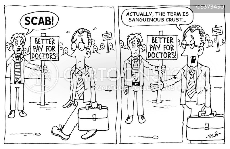 scab cartoon