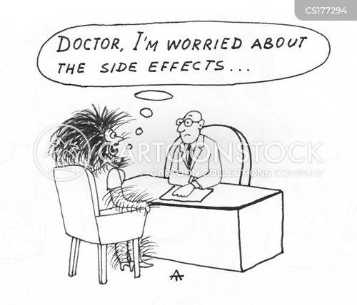 side-effect cartoon