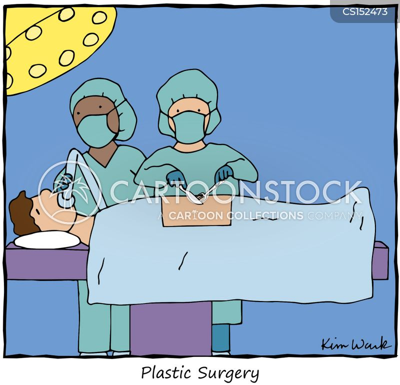 Image result for under the knife cartoon