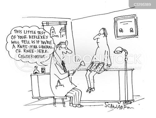 Knee Jerk Cartoons and Comics - funny pictures from CartoonStock