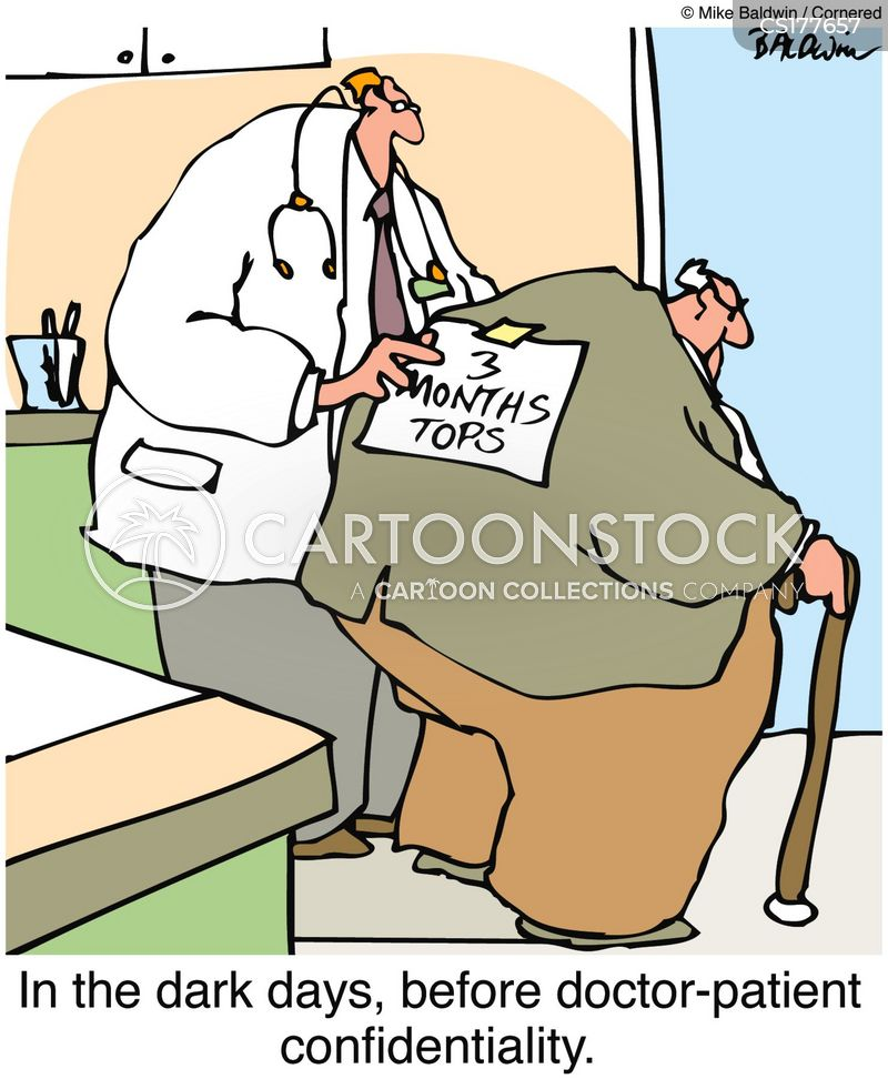 terminal illnesses cartoon