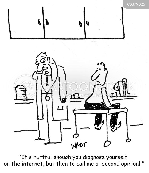 medical practitioner cartoon