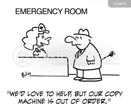 copy machine cartoon