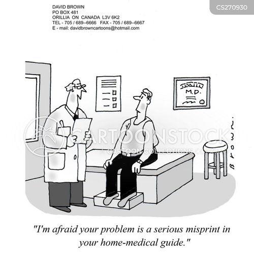 self-medication cartoon