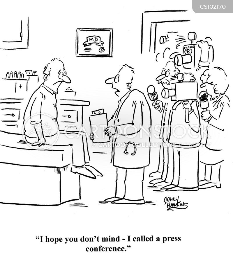 the media cartoon